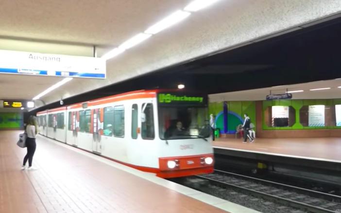 Stadtbahn Dortmund U Bahn Karte Deutschland