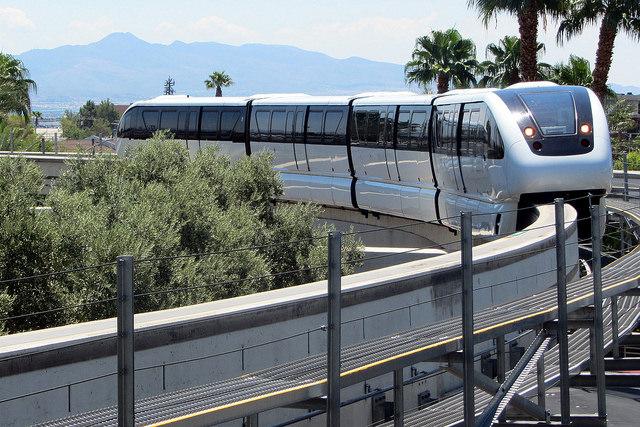 Monorail Las Vegas Metro Map United States