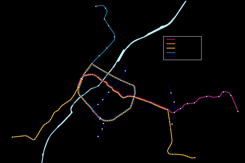 Métro Mapa Del Metro De Bruselas Bélgica