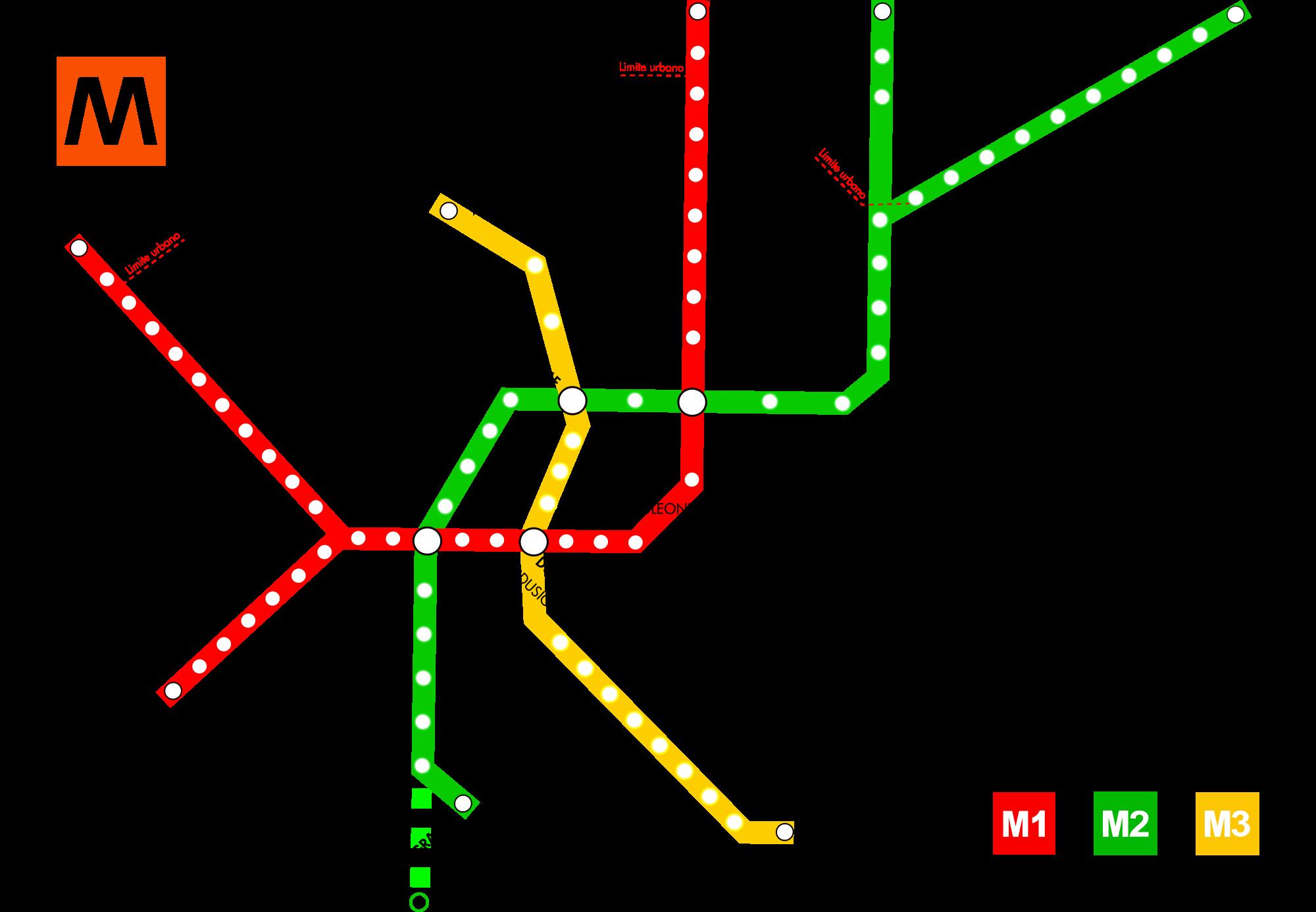 Milan Metro Map Italy