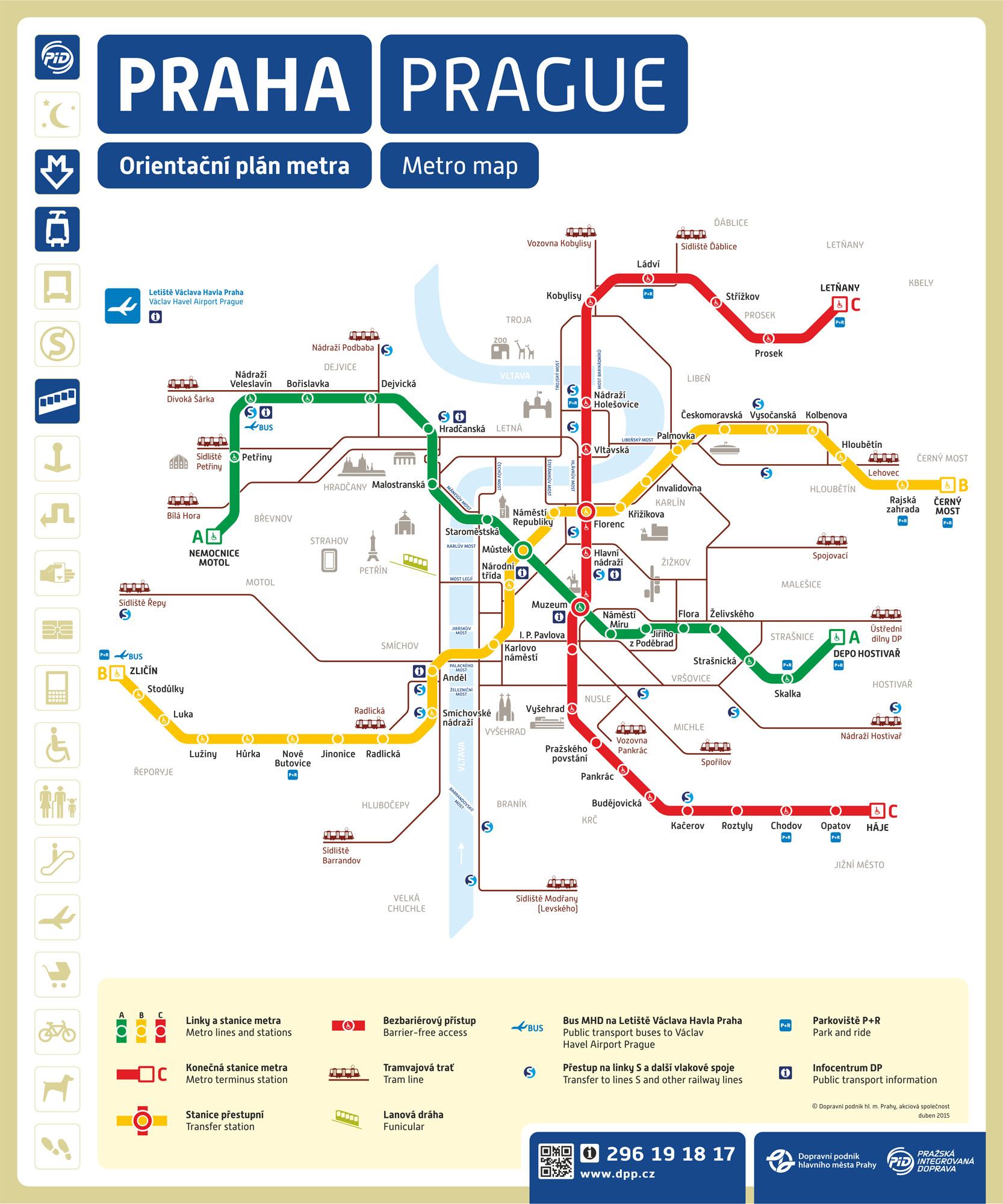 metro map of prague full resolution
