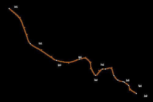 Mapa de Bakerloo line, metro de Londres