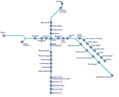 Underground Mapa Do Metro De Londres Inglaterra