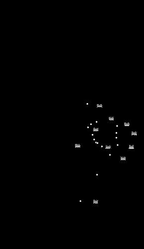 Map of Northern Line, London Underground