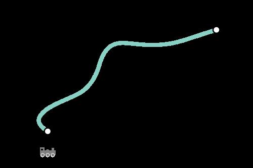 Mapa de Waterloo Line, metro de Londres