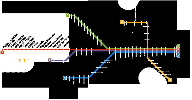 mapa do metro porto portugal Oporto metro map, Portugal mapa do metro porto portugal